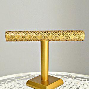 Gold Jewelry Stand Organizer